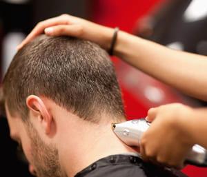 Подстригване с машинка